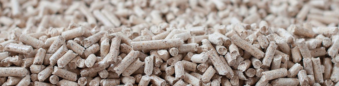 Pellets made with CPM pellet mills
