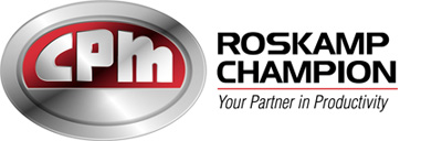 California Pellet Mill/Roskamp Champion Logo