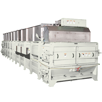 HDHC Heavy-Duty Horizontal Dryer/Cooler is designed for the most demanding drying and cooling applications.